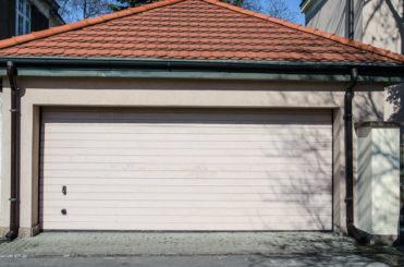 Монтаж профнастила на гараж
