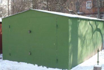 ремонт гаража зимой