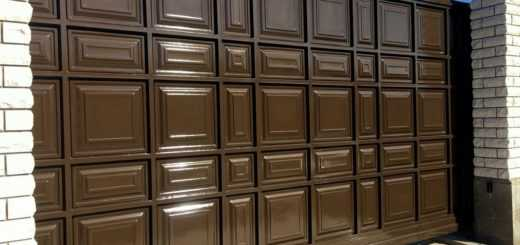 Филенчатые ворота изготовление и установка в Москве и Подмосковье