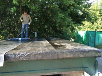Как отремонтировать крышу гаража