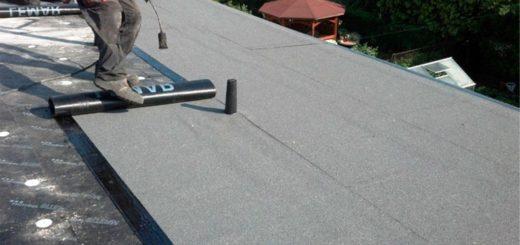 Как покрыть крышу еврорубероидом