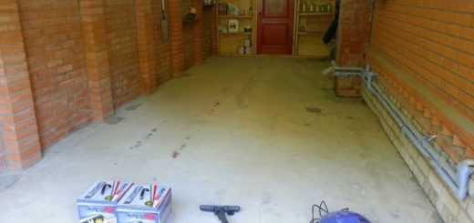 Как сделать практичный пол в гараже