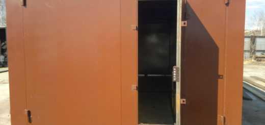 Металлические гаражи в Москве и области