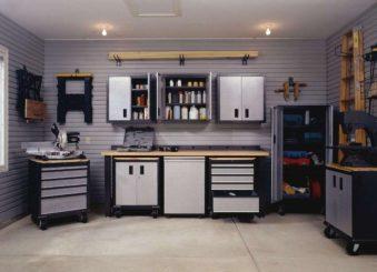 Обустройства гаража