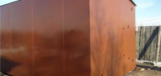 Покраска любого металлического гаража