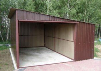 Построить гараж просто и не дорого