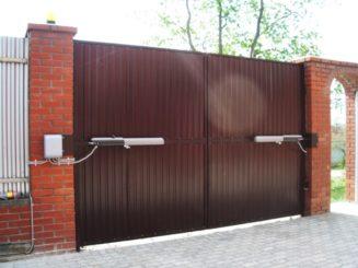 Срочный ремонт распашных ворот