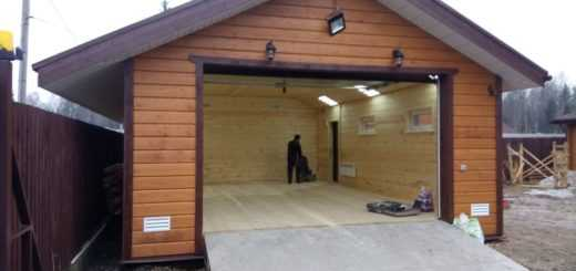 Ремонтные работы гаража