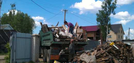 Уборка и вывоз мусора с дачного участка