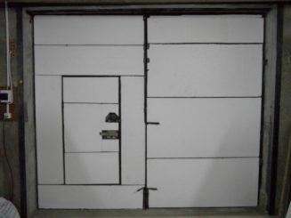 Утепляем ворота гаража пенопластом или пенополистиролом