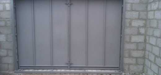 Варим гаражные ворота
