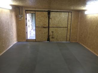 Внутренняя отделка гаража в Пушкино