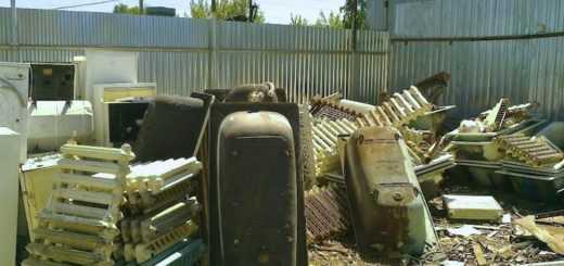 Вывоз чугунных батарей на утилизацию бесплатно