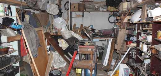 Вывоз хлама из гаража