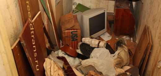 Вывоз хлама из квартиры, дачи и других объектов