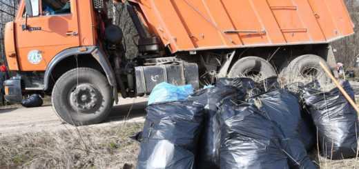 Вывоз мусора КаМАзом - самосвалом
