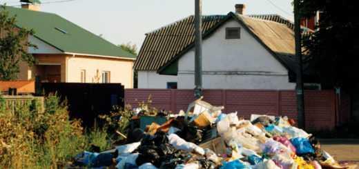 Вывоз мусора из частного дома