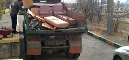 Вывоз мусора с погрузкой на свалку