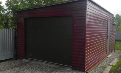Дешевые гаражи железные