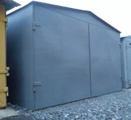 Железный гараж недорого