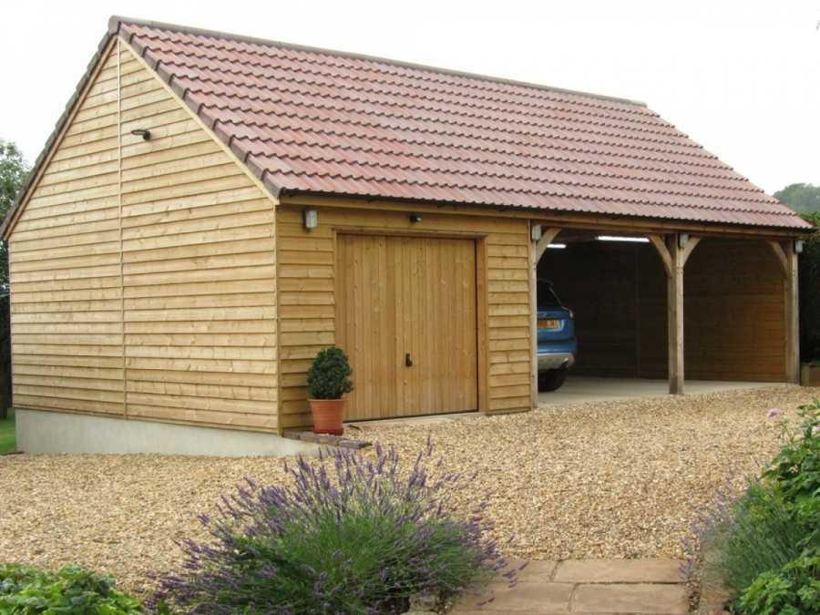 Строительство крыши гаража