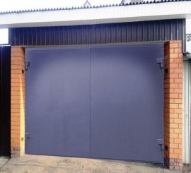 Покраска гаражных ворот