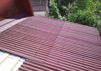 Монтаж крыши из ондулина на гараж и дом