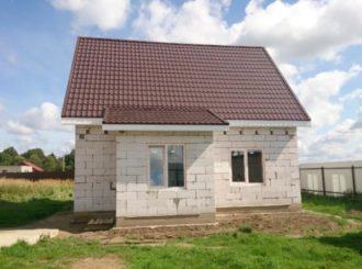 Строительство дачных домов из блоков
