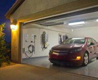 покрска стен в гараже